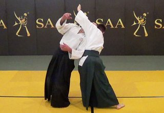Aikido Irimi Omote Angle of Entrance