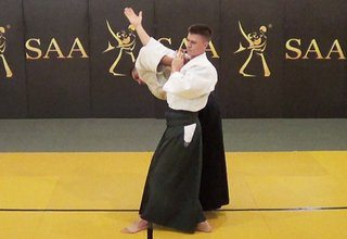 Aikido Ude Garami Standing Control Position